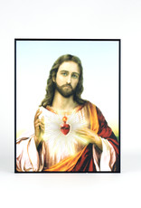 Plaque of Sacred Heart of Jesus