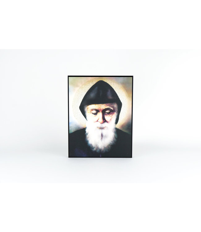 Plaque of Saint Charbel