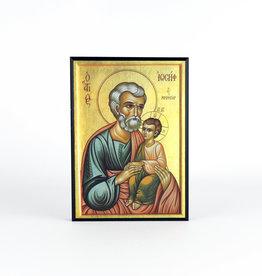 Icône Saint Joseph et l'enfant