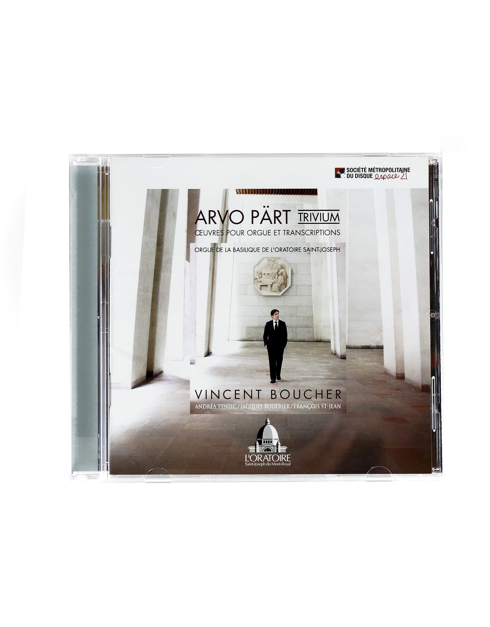 Société Métropolitaine du Disque Arvo Pärt (Trivium) Œuvres pour orgue et transcriptions. Vincent Boucher (CD))