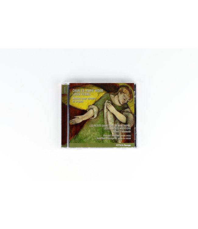 Messes pour choeurs et orgues. Charles-Marie Widor & Louis Vierne (CD)