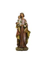 Joseph's Studio / Roman Statue saint Joseph en résine couleur (25cm)