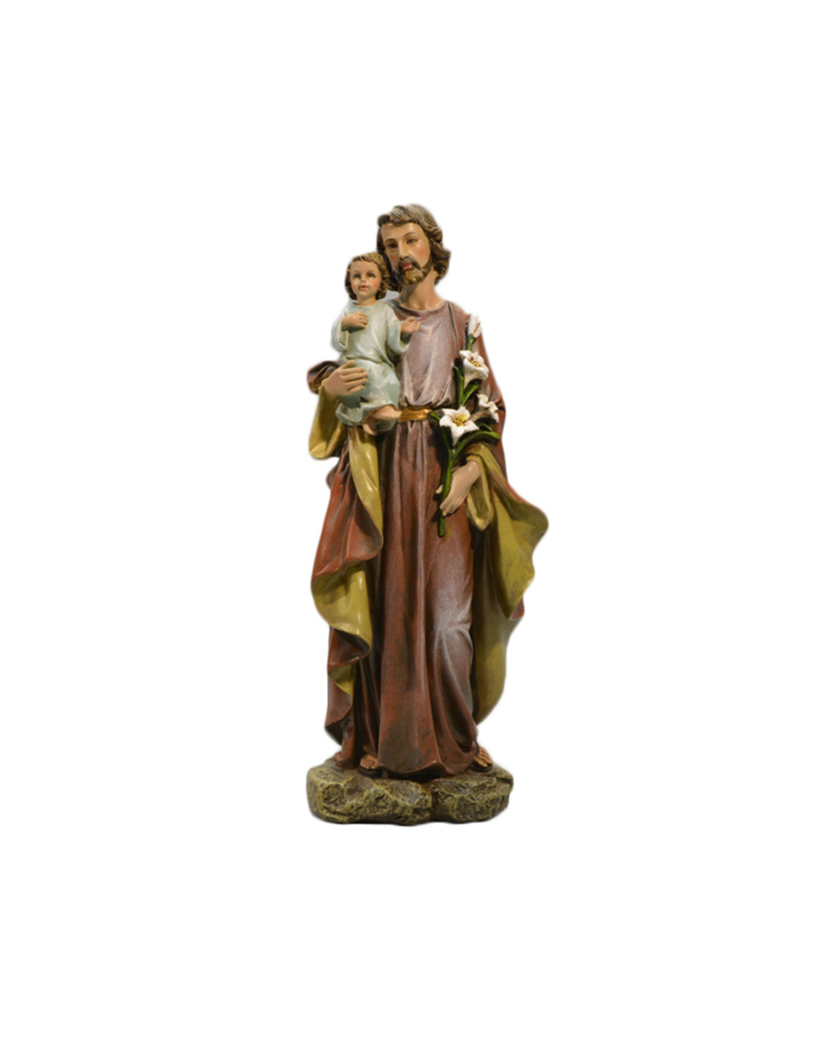 Joseph's Studio / Roman Saint Joseph and Christ Child statue (25cm)