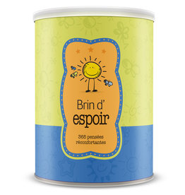 Boîte Bonheur / Box of Joy Can of Joy : Message of Hope (French)
