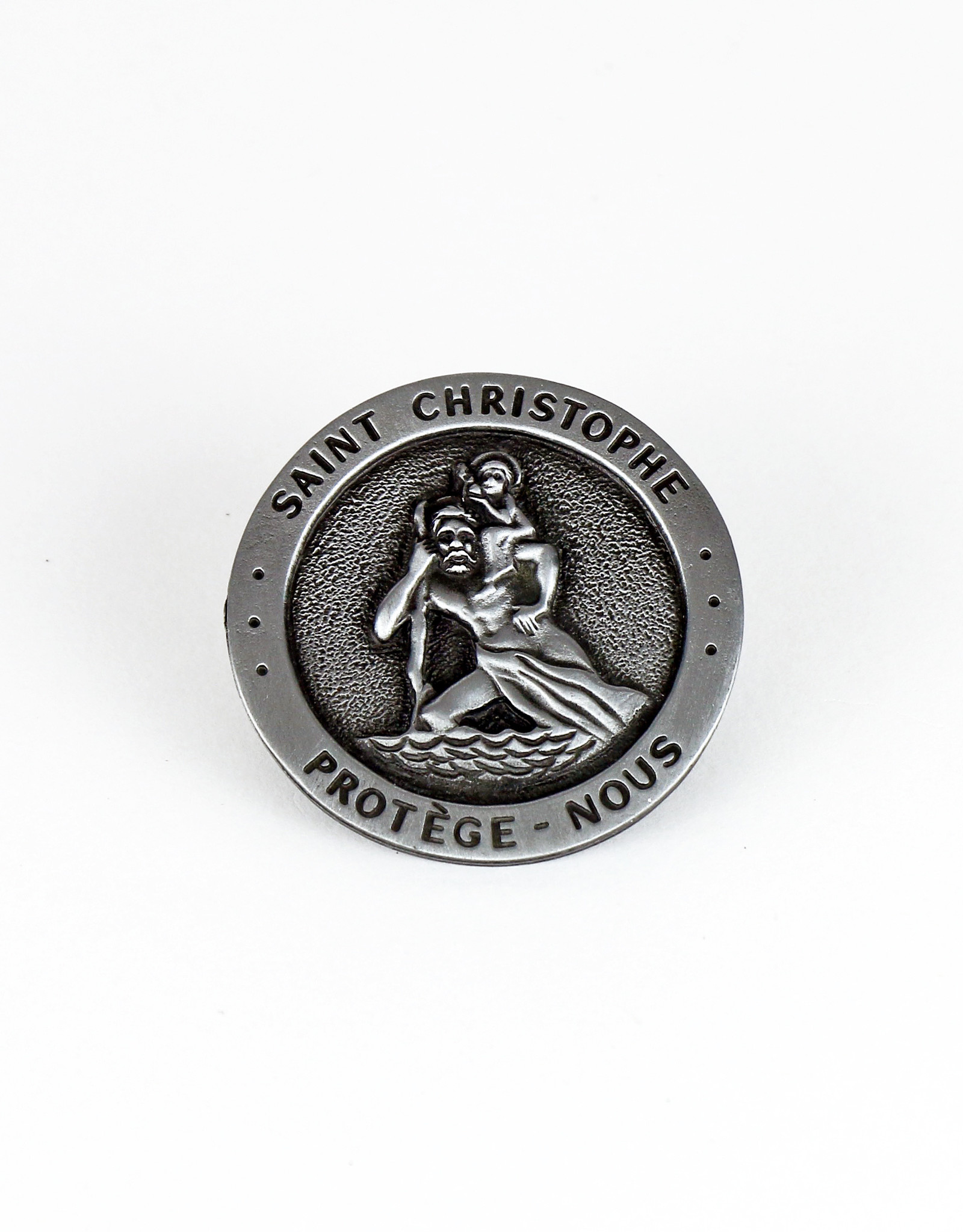 Visor clip Saint Christopher (french)