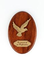 Souvenir confirmation plaque (french)