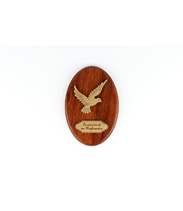 Confirmation plaque (french)