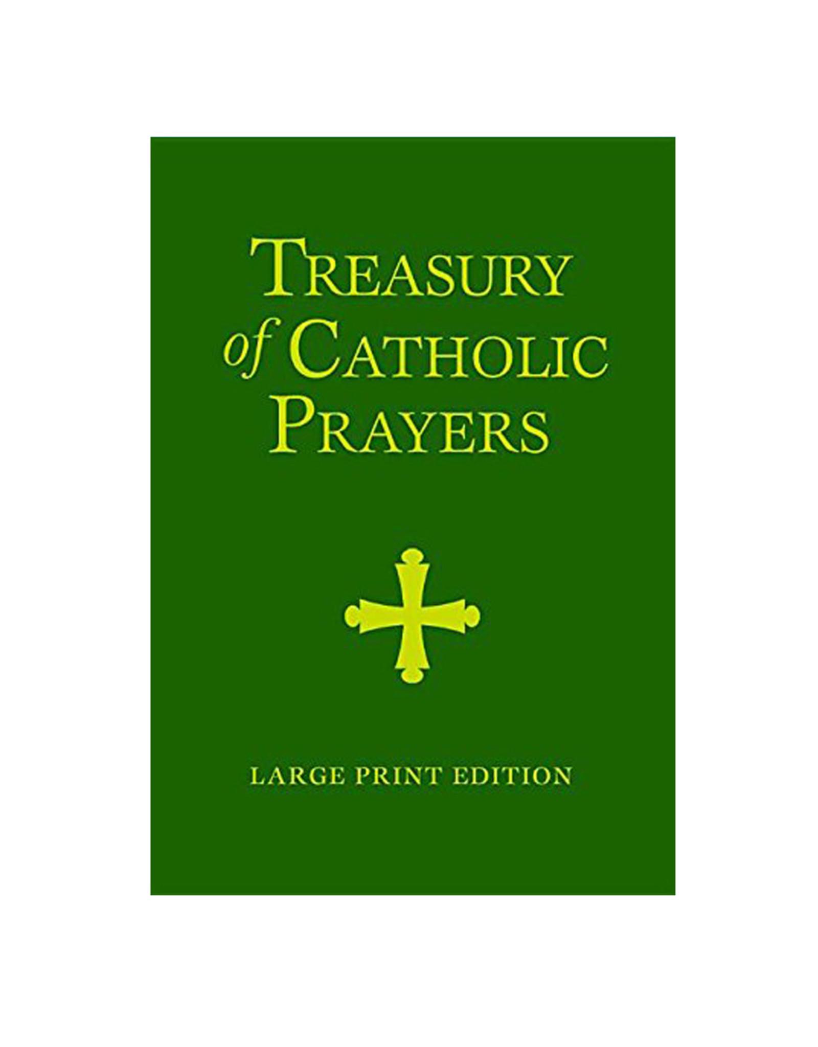 Treasury of catholic prayers (large print edition)