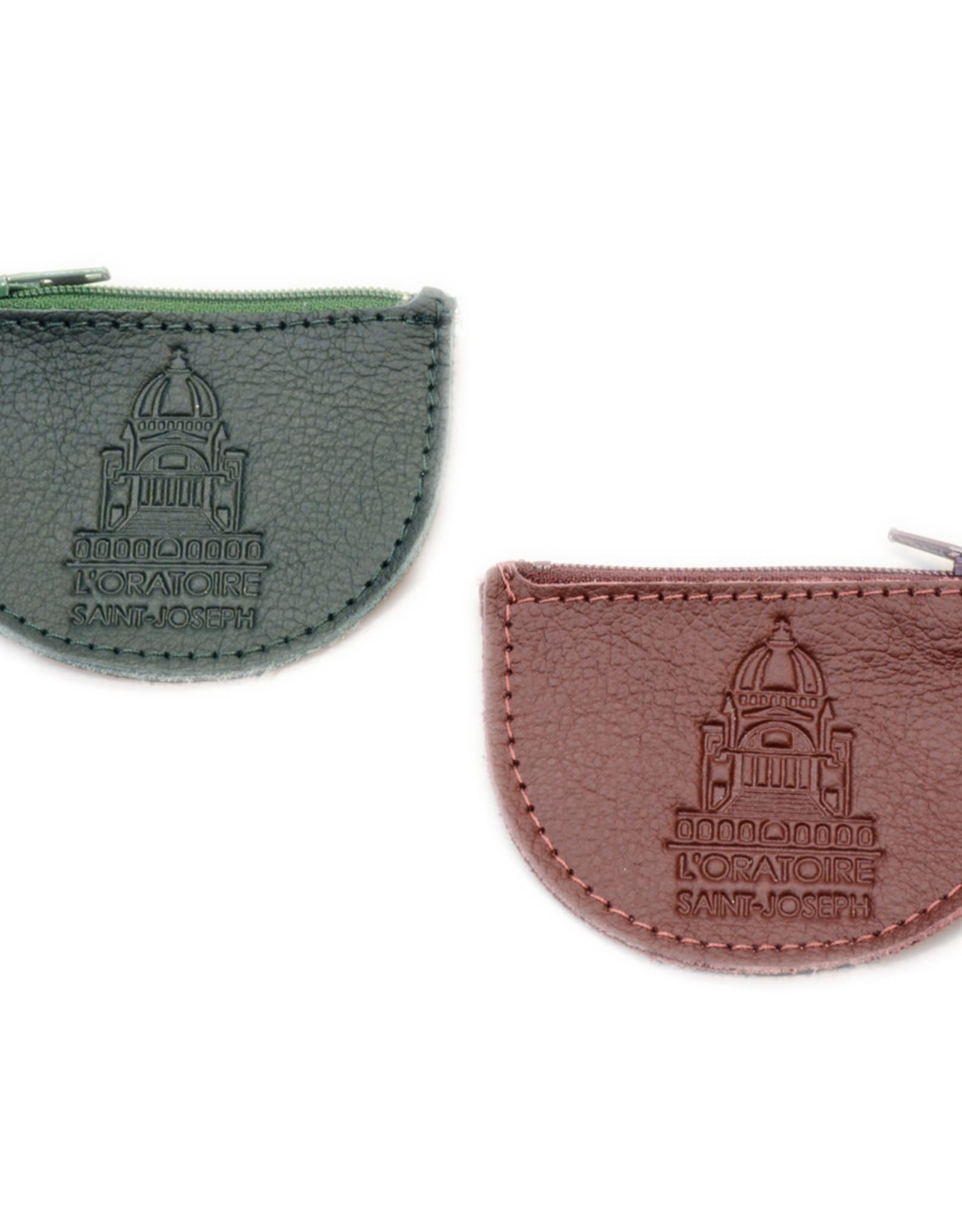 Étui à chapelet de l'Oratoire en cuir