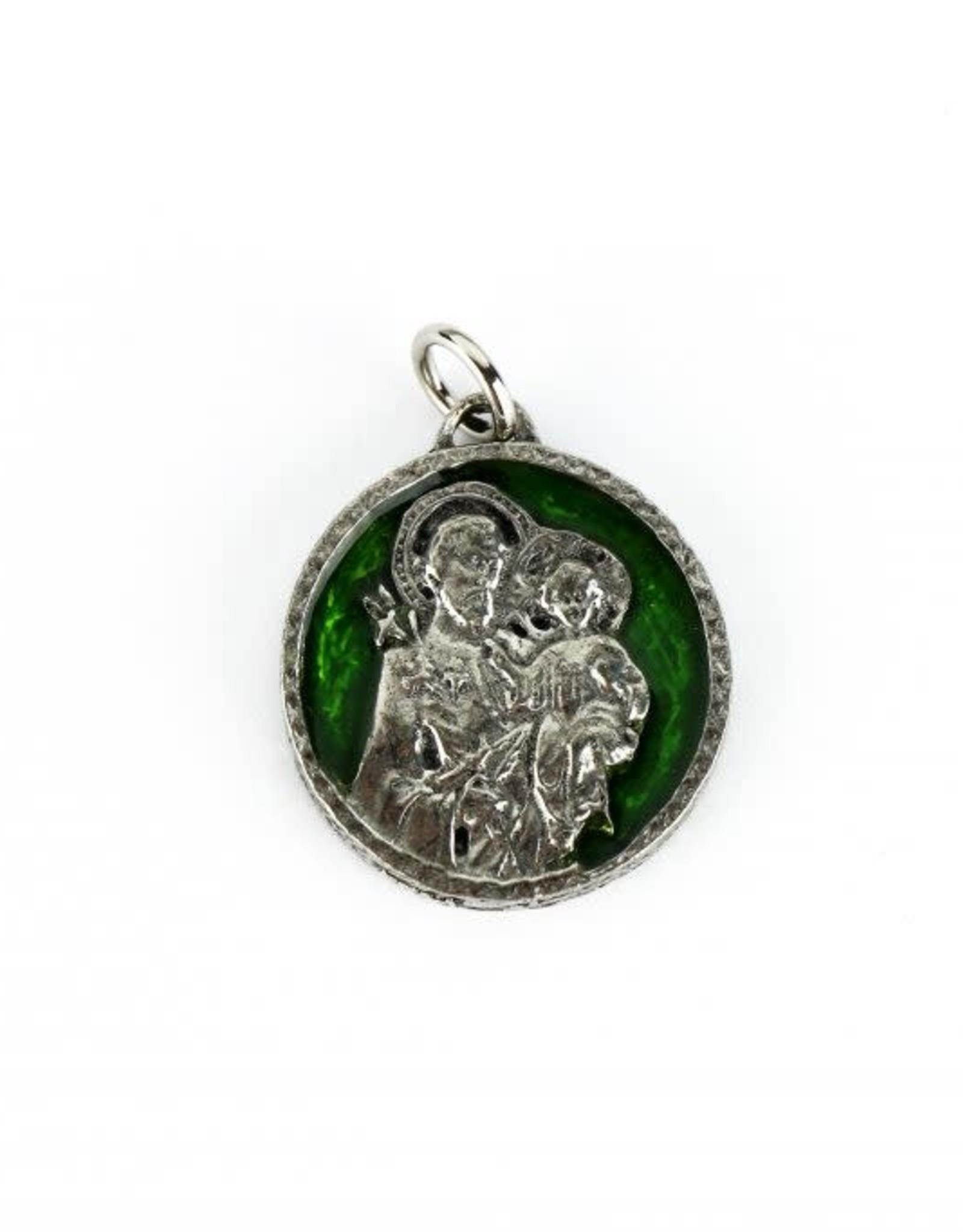 L'Oratoire Saint-Joseph du Mont-Royal Médaille Saint Joseph et Oratoire blanc ou vert