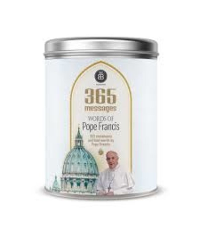 Boîte Bonheur / Box of Joy Can of Joy : Words of Pope Francis