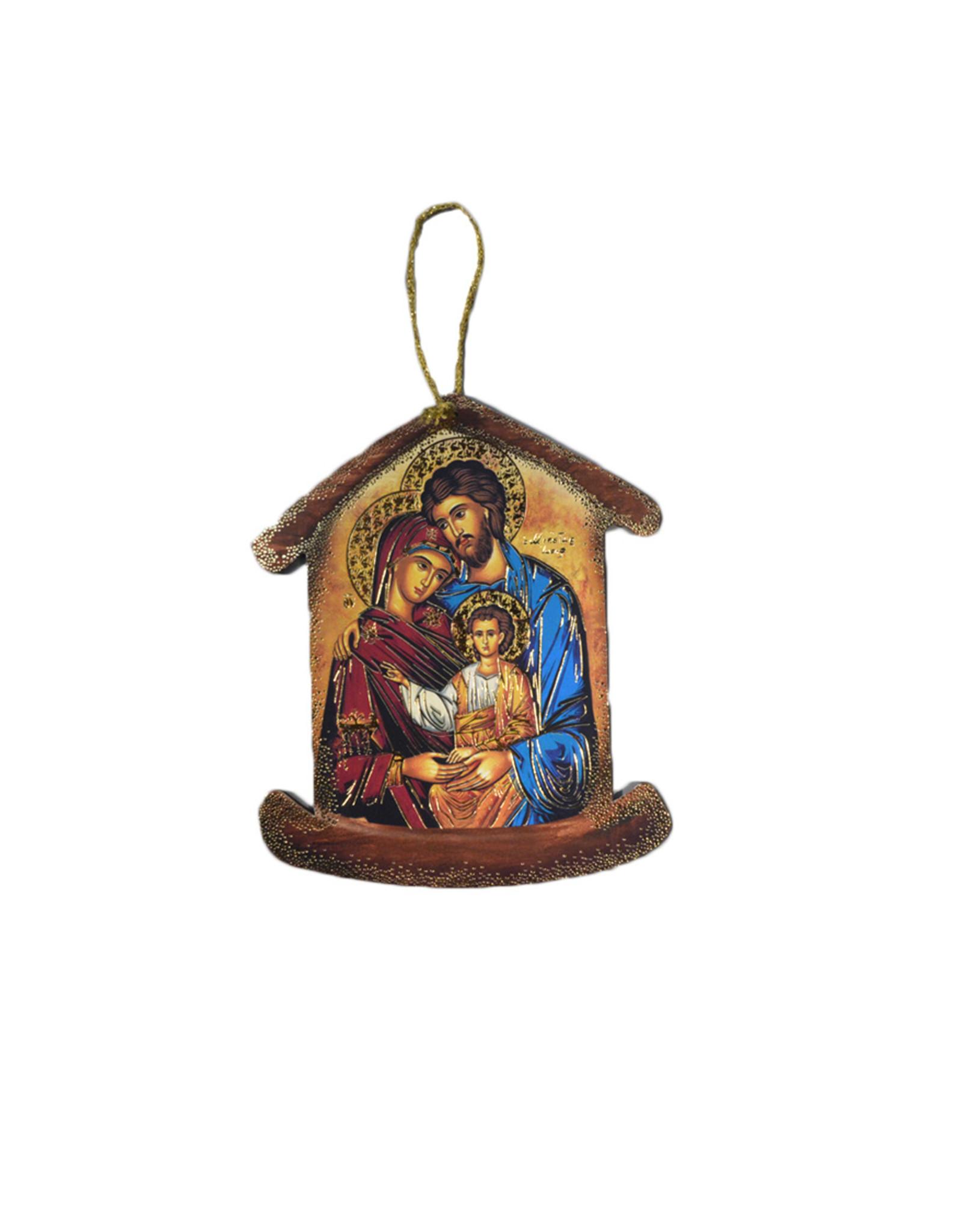 Ornement icône sainte Famille