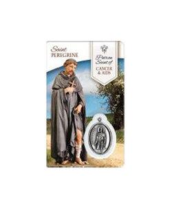 Medal Card of Saint Peregrine