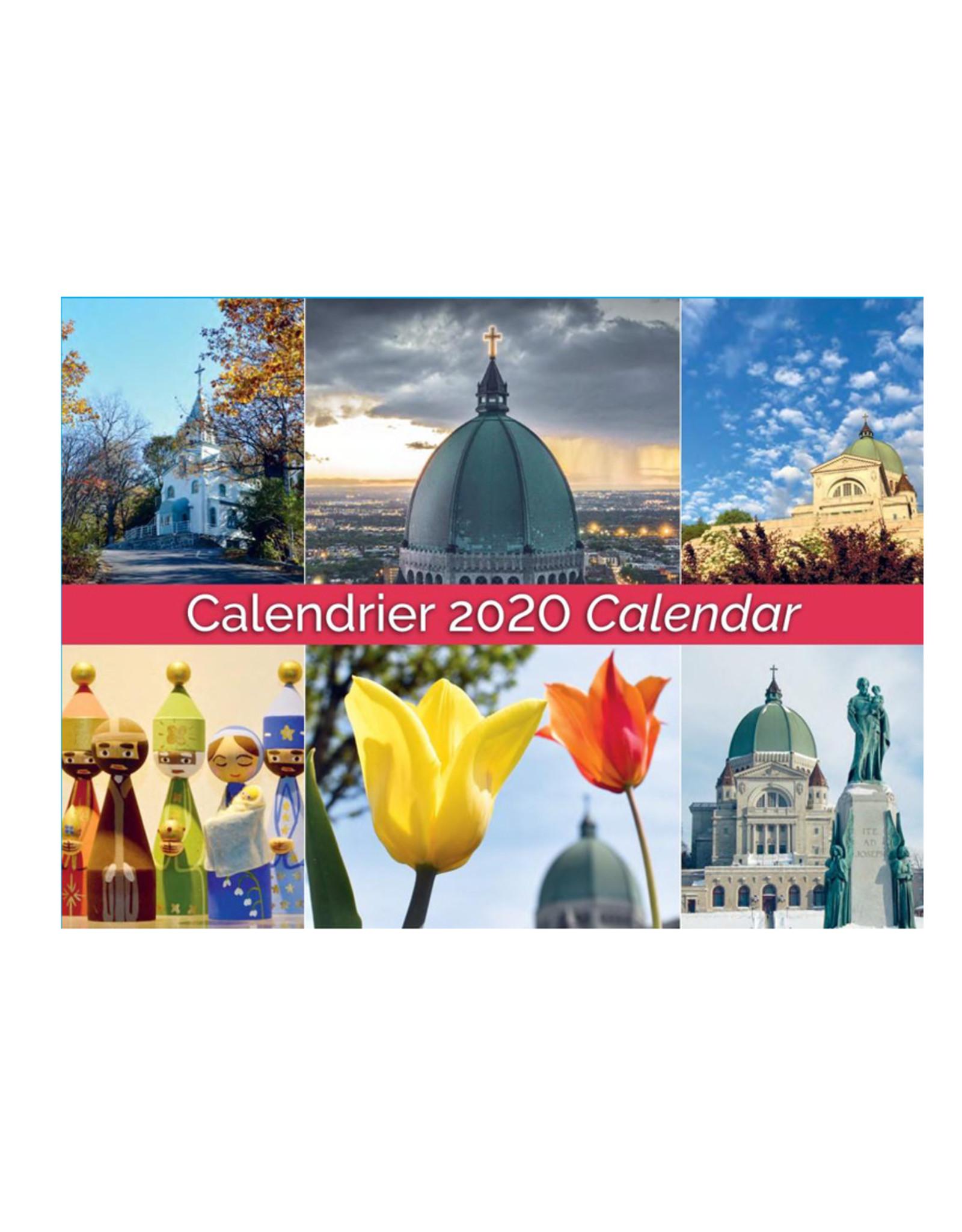L'Oratoire Saint-Joseph du Mont-Royal 2020 Oratory Calendar