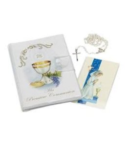 Première Communion set for girls (french)