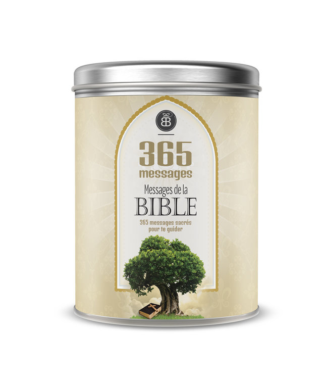 Boîte Bonheur / Box of Joy Can of Joy : Messages from the Bible (French)