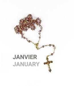 Birth month rosary