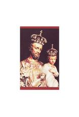 L'Oratoire Saint-Joseph du Mont-Royal Prayer card Saint Joseph (french)