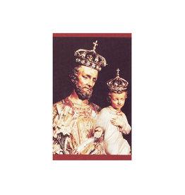 L'Oratoire Saint-Joseph du Mont-Royal Prayer card Saint Joseph