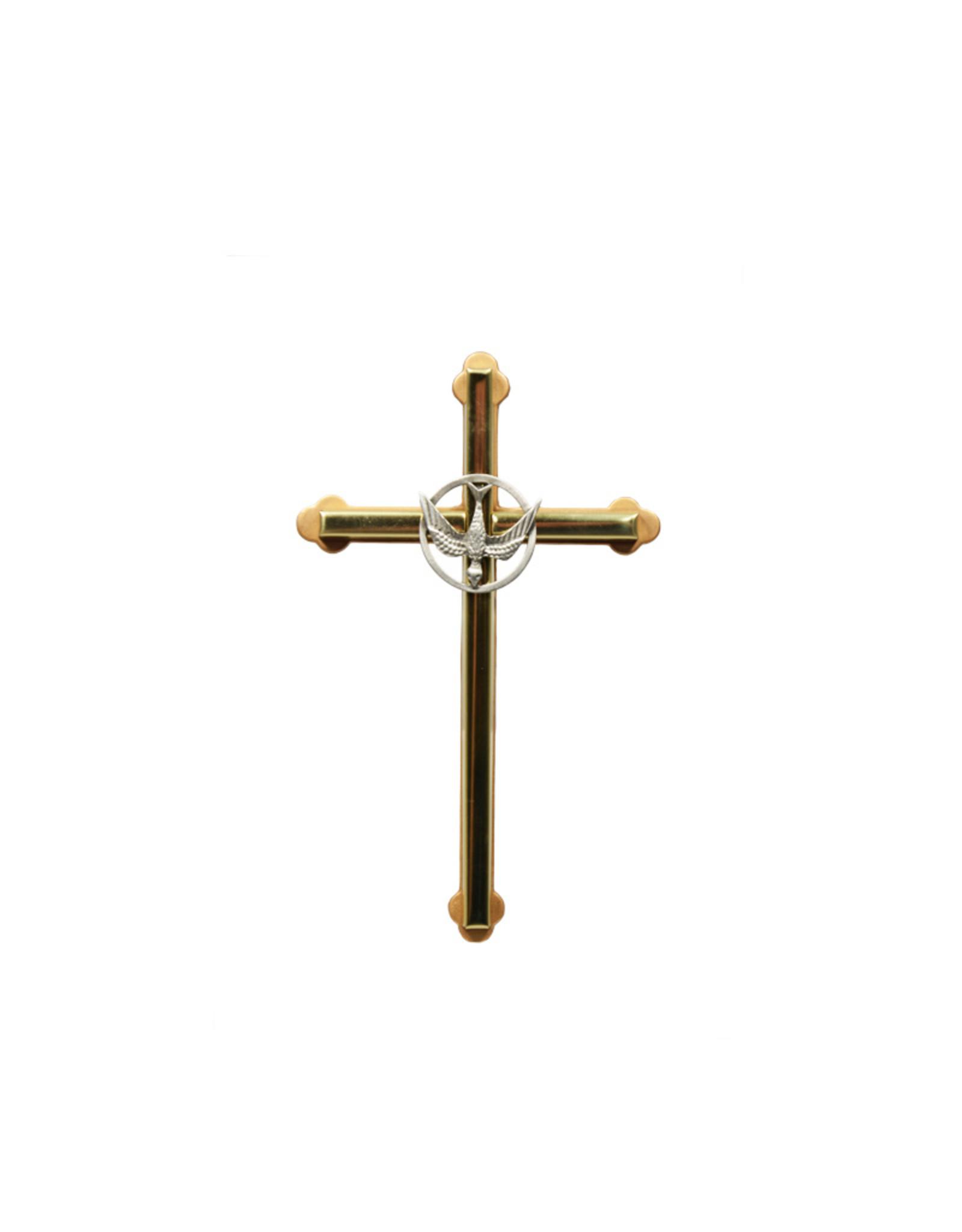 Confirmation golden cross (16 cm)