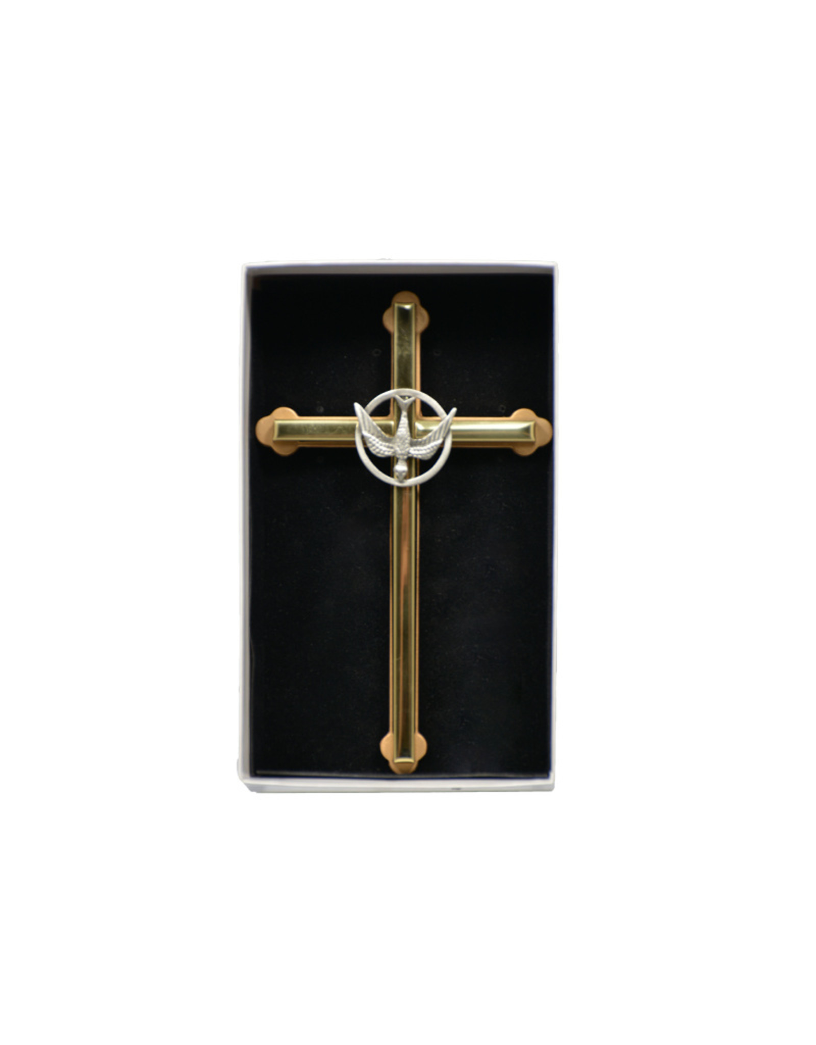 Confirmation golden cross (16 cm)