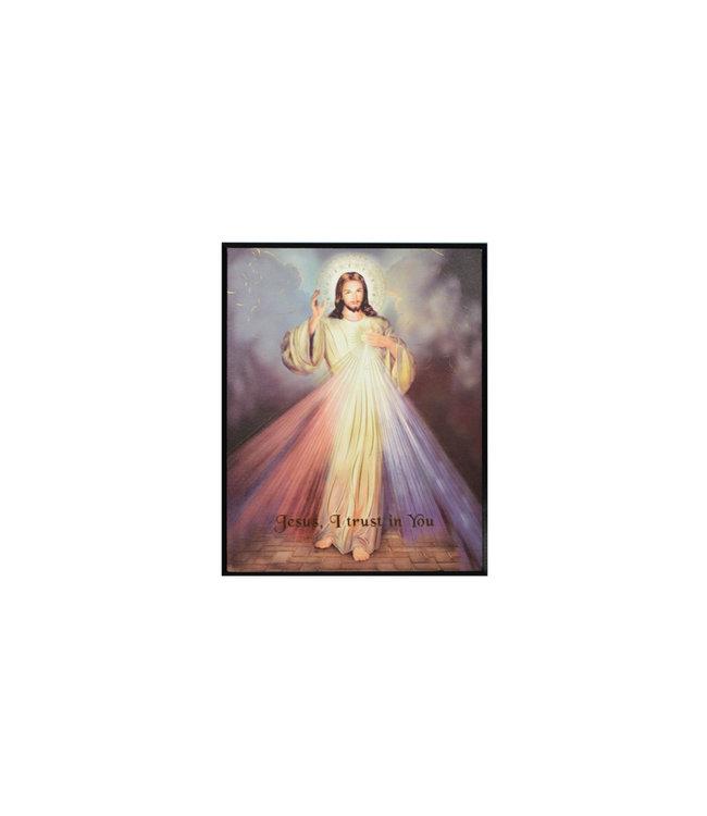 Plaque Divine Mercy
