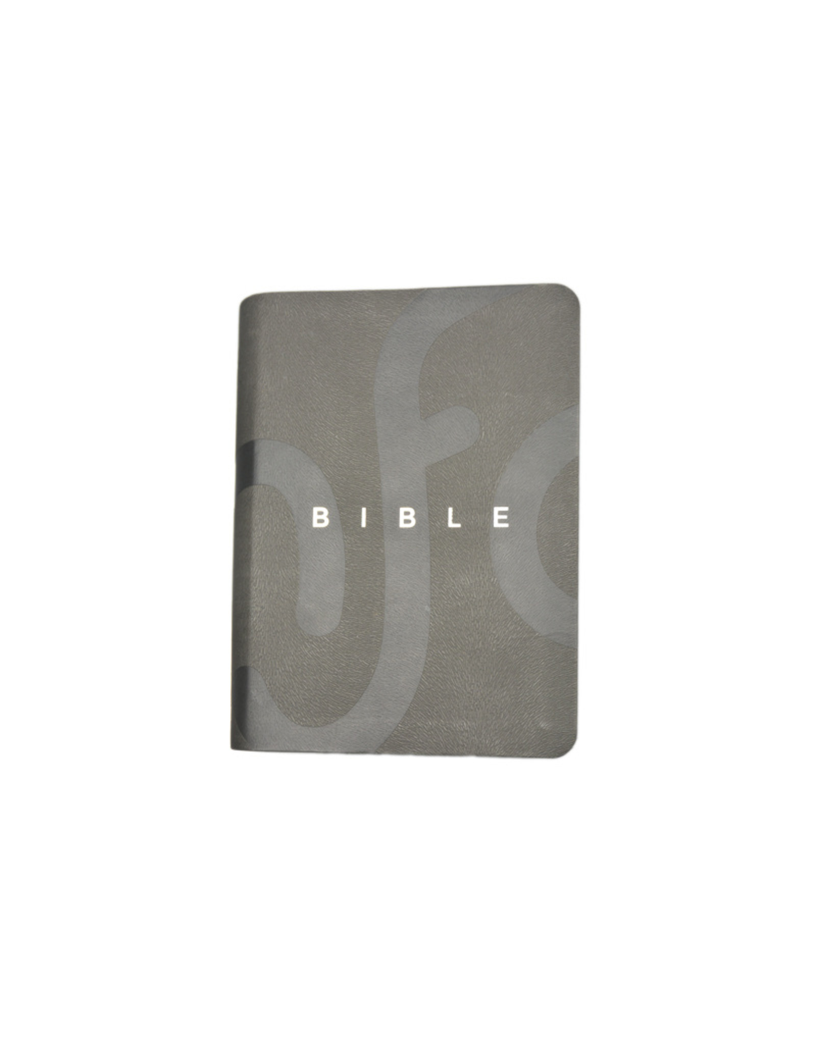 Société Biblique / Bible Society French NFC bible: grey faux leather