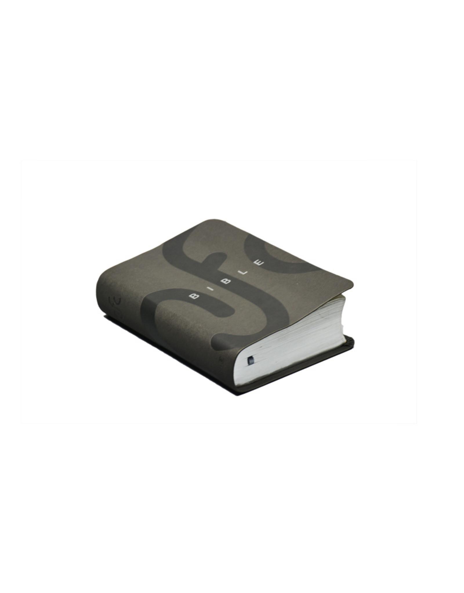 Société Biblique / Bible Society Bible NFC avec deutérocanoniques : similicuir gris