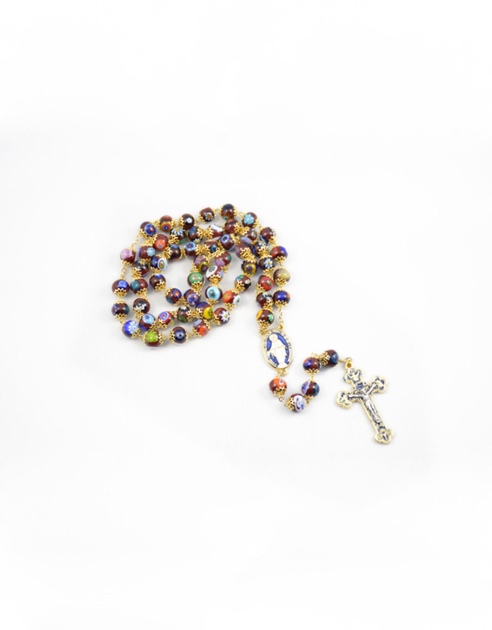 Red Murano Glass Rosary