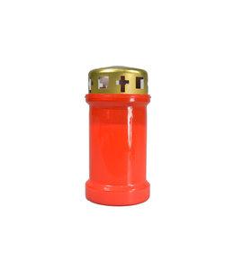 Lampion rouge  avec couvercle