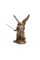 Collection Veronese Saint Raphel bronze resin statue (10,5cm)
