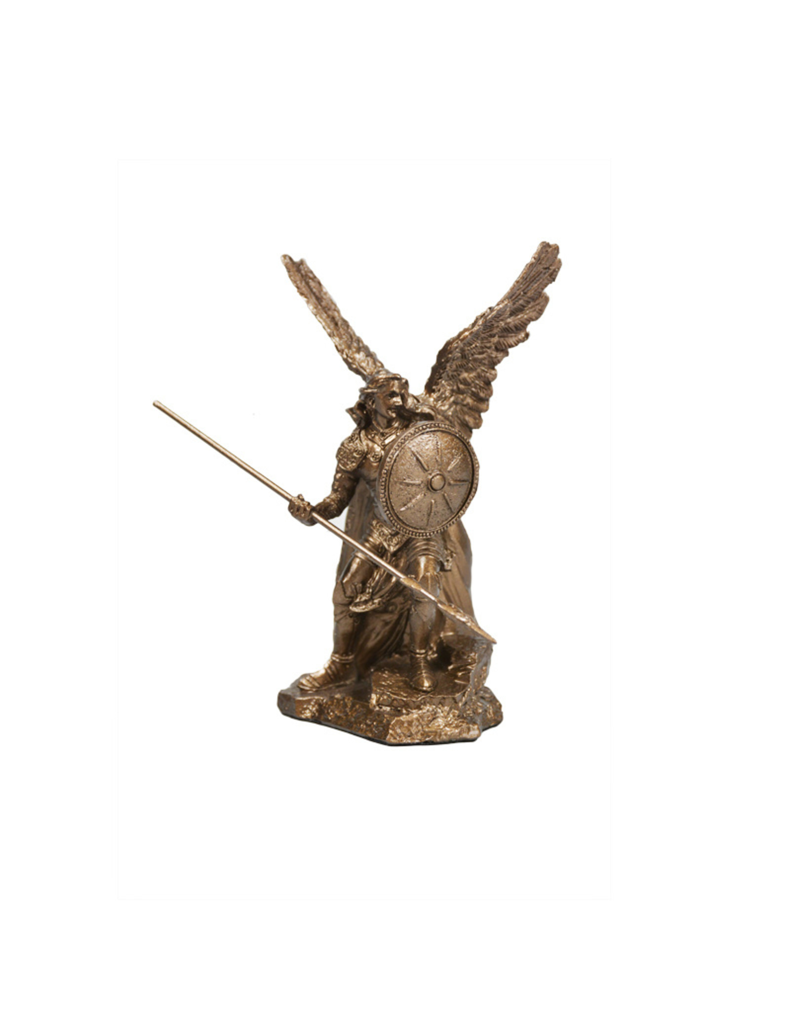 Collection Veronese Saint Raphel bronze resin statue (10,5cm)
