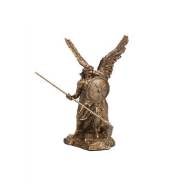 Collection Veronese Saint Raphael bronze resin statue (10,5cm)