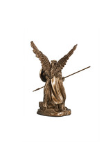 Collection Veronese Statue saint Raphaël résine bronze (10,5cm)