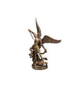 Collection Veronese Saint Michael bronze resin statue (11cm)