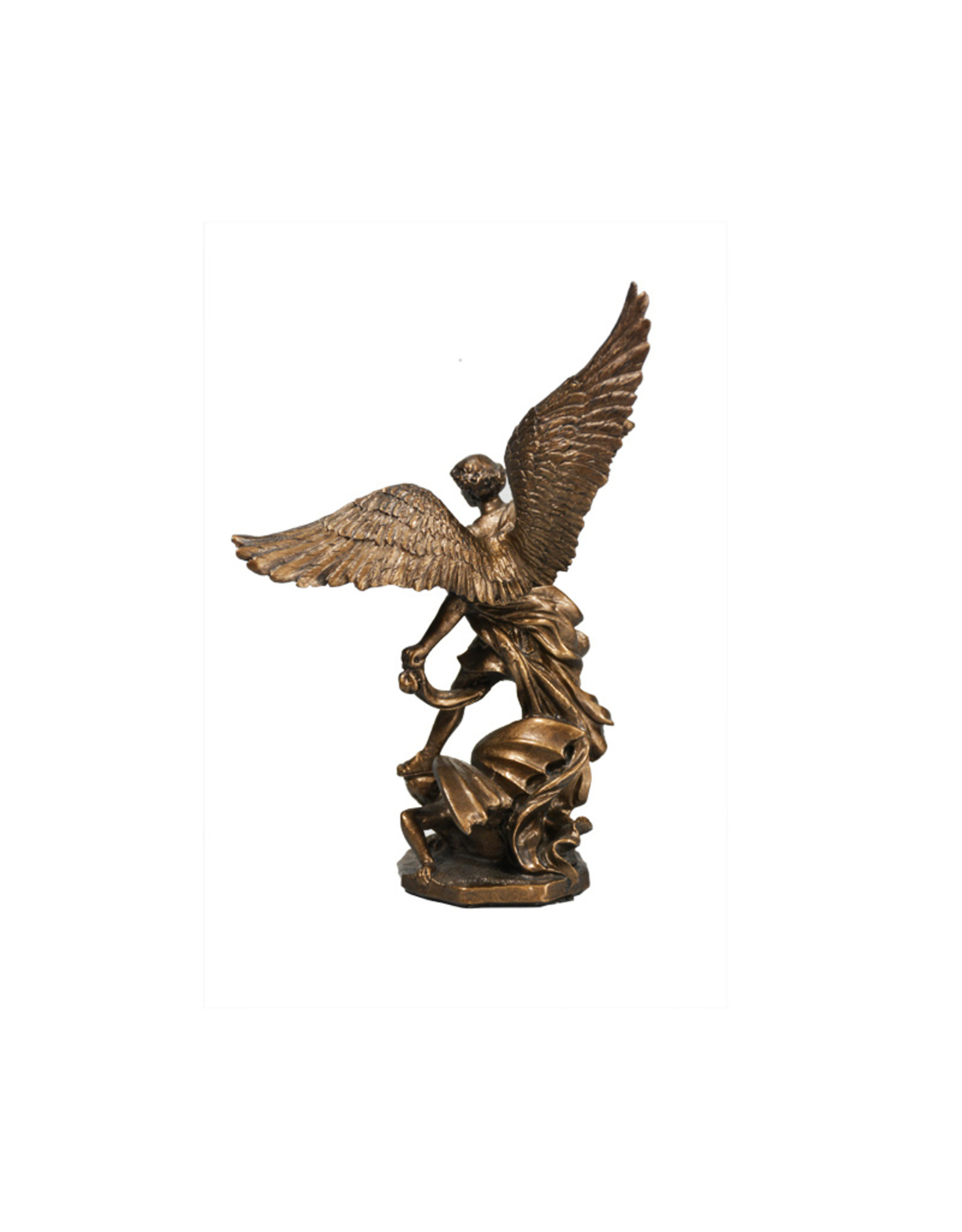 Collection Veronese Saint Michael bronze resin statue (11cm)