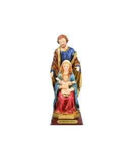 Holy Family resin statue (25cm)