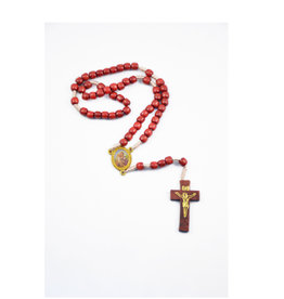 Saint Joseph rosary on rope