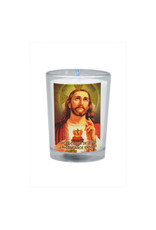 Chandelles Tradition / Tradition Candles Sacred Heart of Jesus votive candle  (french)