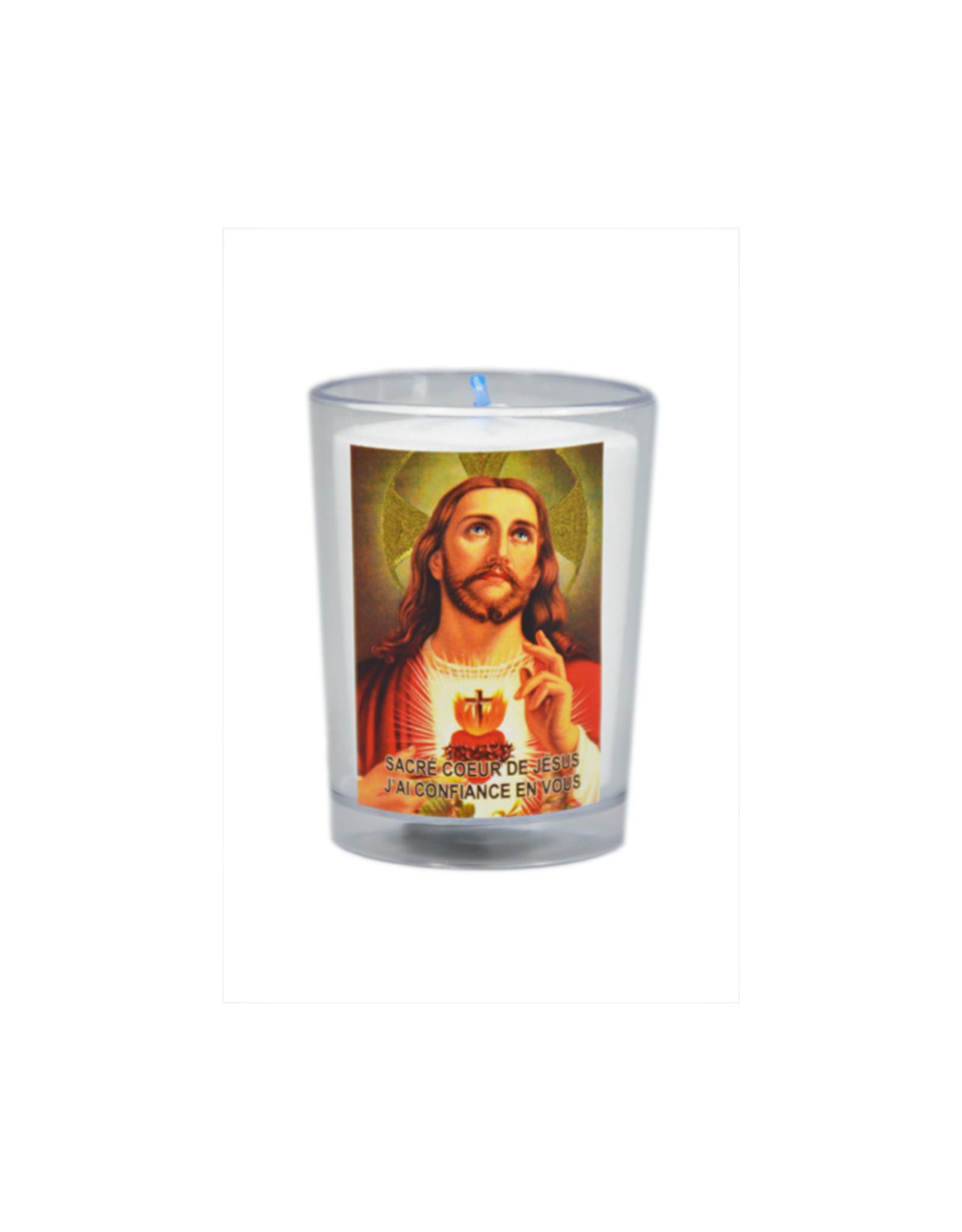 Chandelles Tradition / Tradition Candles Lampion du Sacré Cœur de Jésus