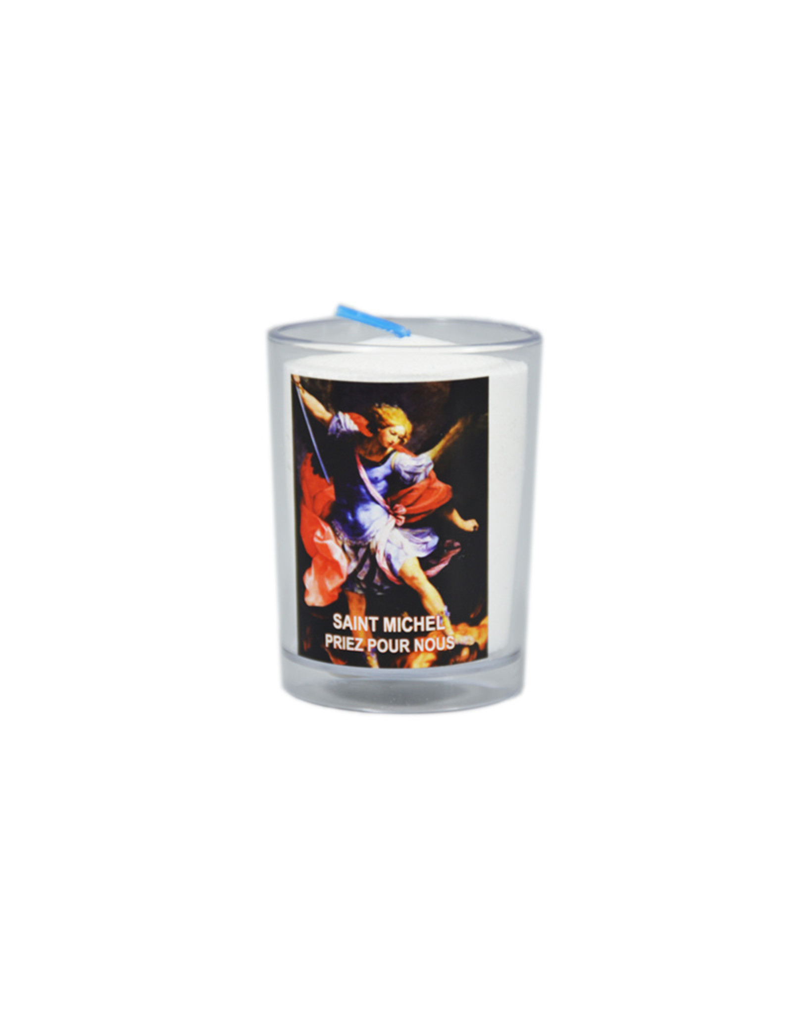 Chandelles Tradition / Tradition Candles Saint Michael votive candle (french)
