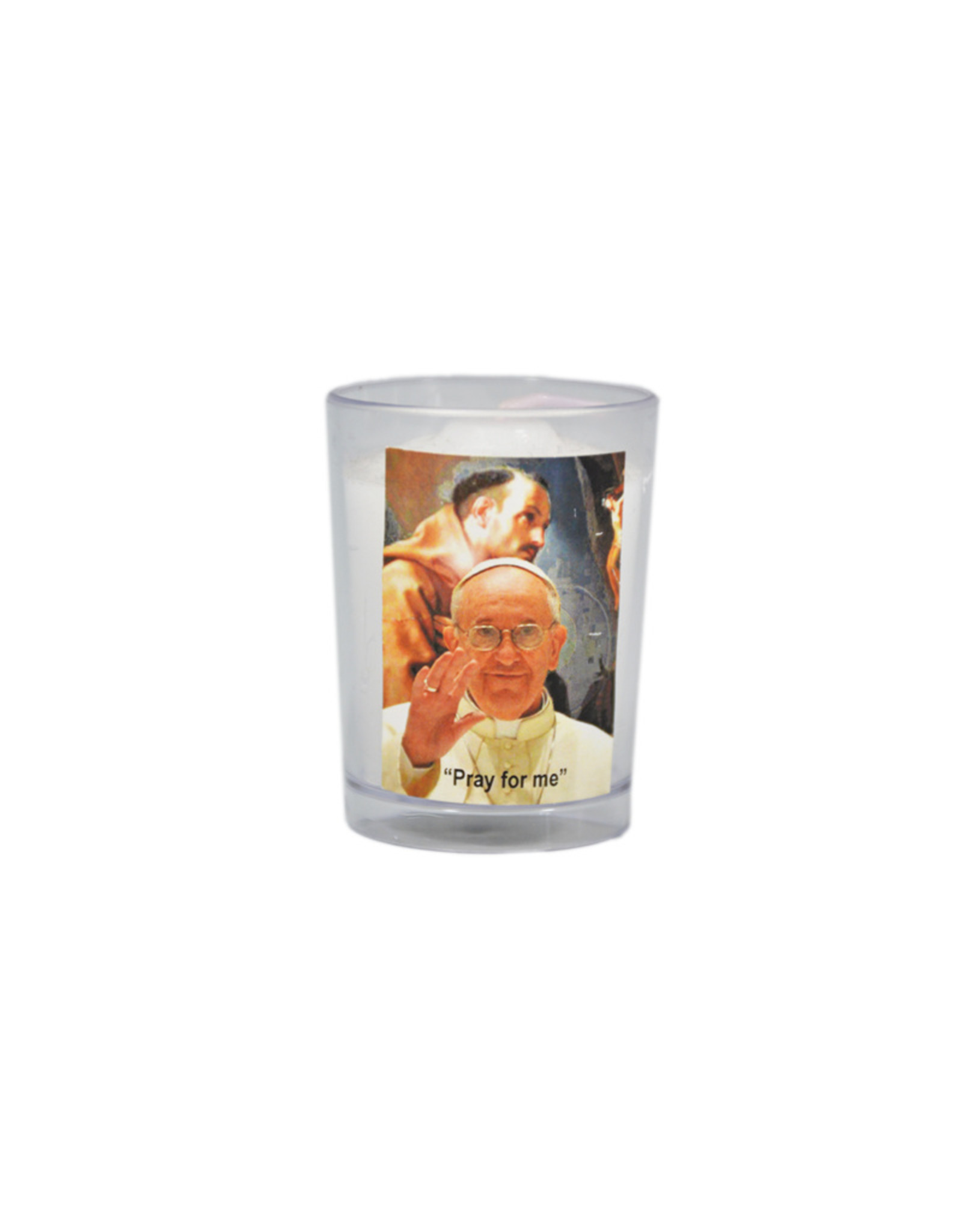 Chandelles Tradition / Tradition Candles Pope Francis votive candle