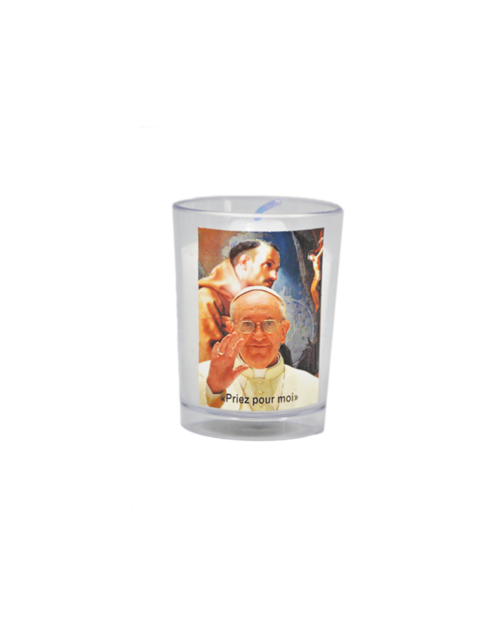 Chandelles Tradition / Tradition Candles Lampion Pape Francois