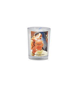 Chandelles Tradition / Tradition Candles Lampion Pape Francois (french)