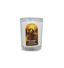 Chandelles Tradition / Tradition Candles Mary Undoer of Knots votive candle (french)