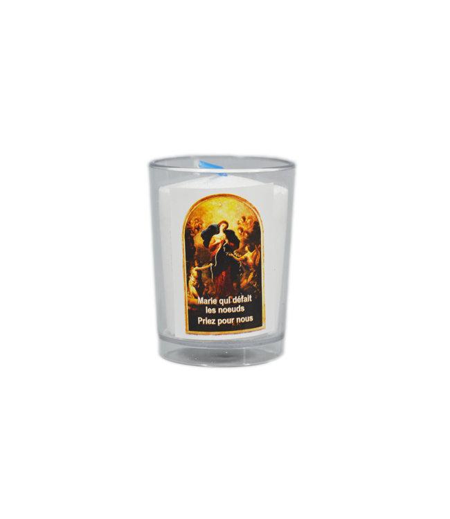 Chandelles Tradition / Tradition Candles Lampion Marie qui défait les nœuds