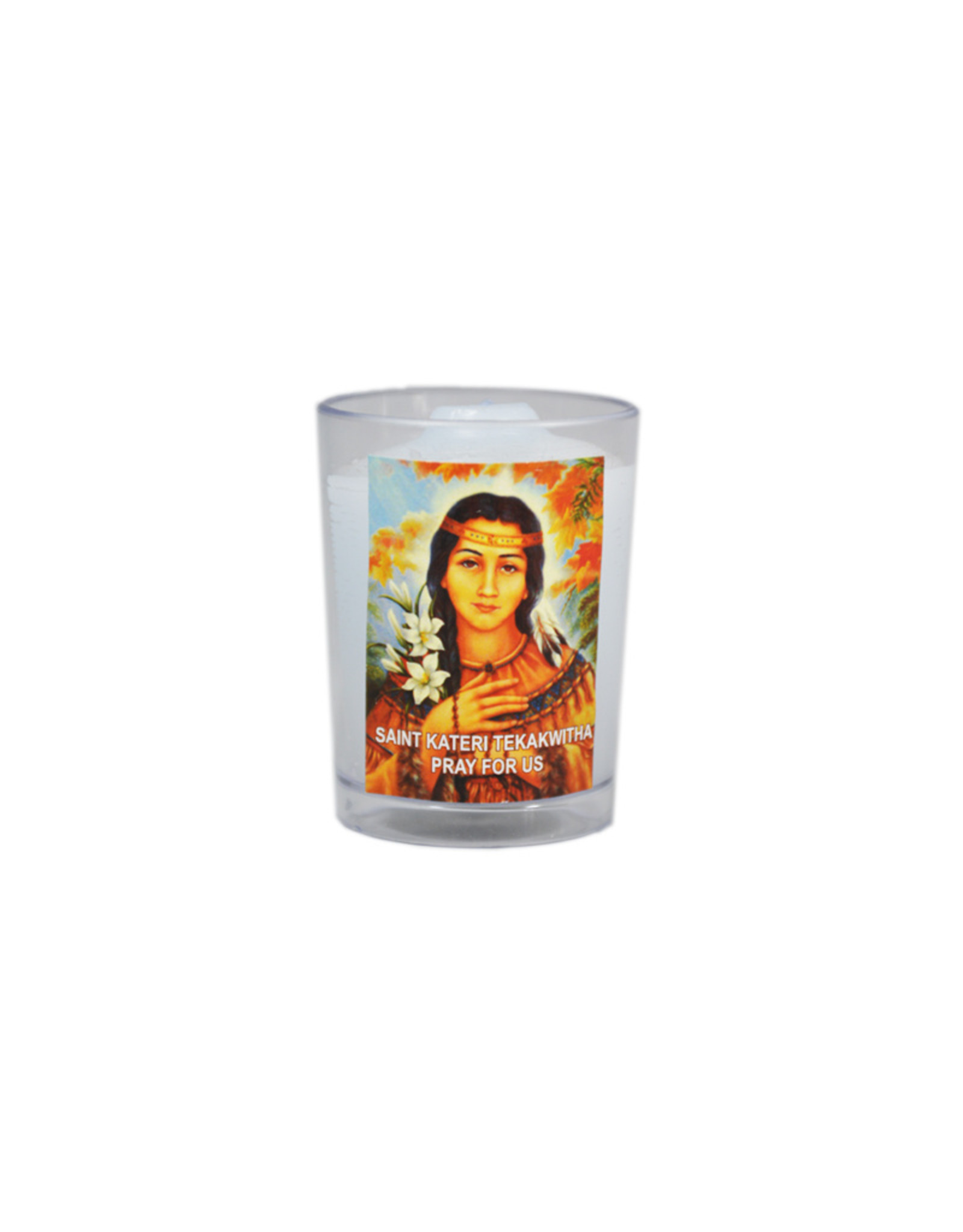 Chandelles Tradition / Tradition Candles Saint Kateri Tekakwitha votive candle