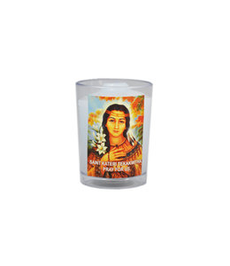 Chandelles Tradition / Tradition Candles Saint Kateri Tekakwitha votive candle