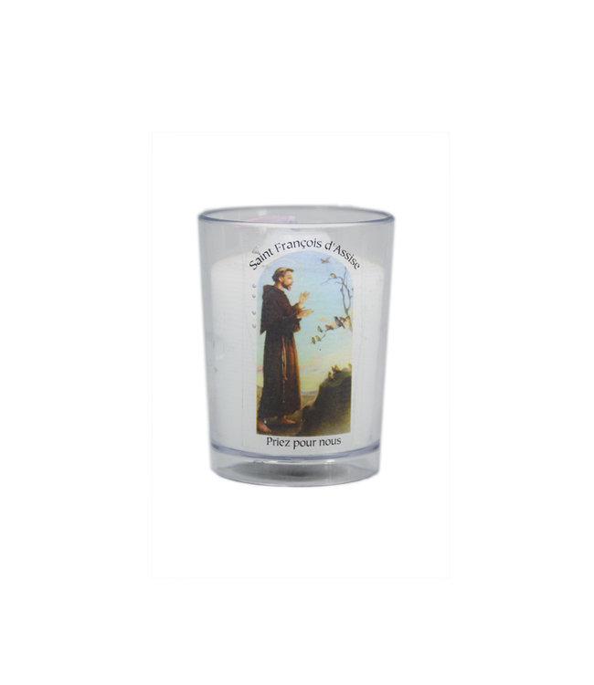 Chandelles Tradition / Tradition Candles Lampion de saint François d'Assise