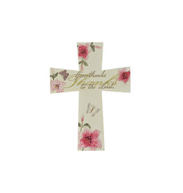 ''Give thanks to the Lord'' cross